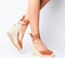 Womens Office Marmalade Part Espadrille Tan Suede