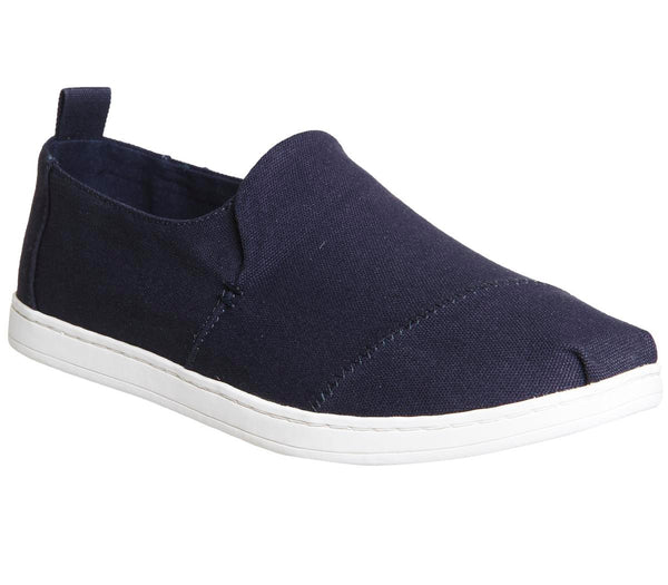 Mens Toms Deconstructed Alpargata M Navy Canvas