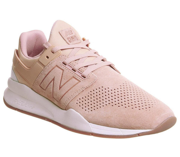 Mens New Balance 247V2 Marzipan White