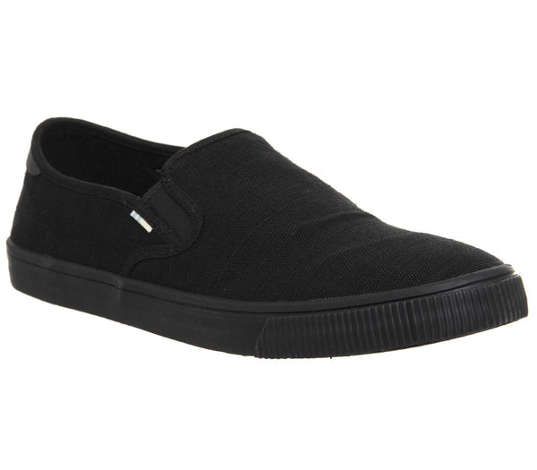 Mens Toms Baja Black Mono Uk Size 10