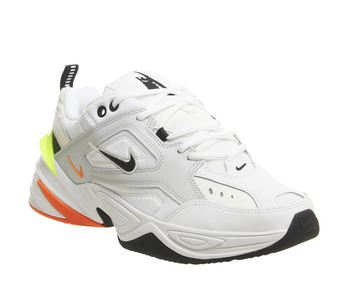half off de206 bf581 Mens Nike M2K Tekno Pure Platinum Black Sail White Total Uk Size 9 –  OFFCUTS SHOES by OFFICE