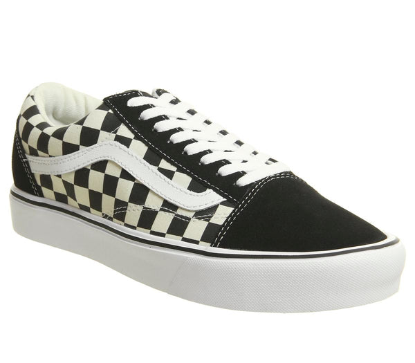 Unisex Vans Old Skool Lite Black White Checkerboard