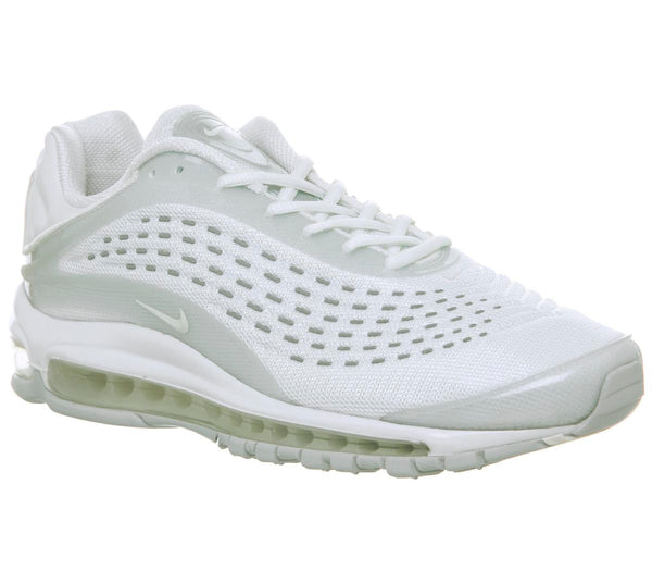 Womens Nike Air Max Deluxe White Sail Pure Platinum Uk Size 7