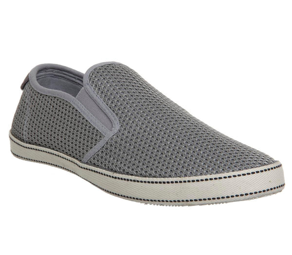 Mens Original Penguin Espy Slip On Grey Uk Size 10
