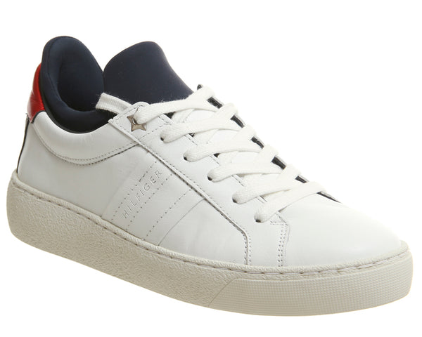Mens Tommy Hilfiger Hybrid Iconic White Uk Size 6