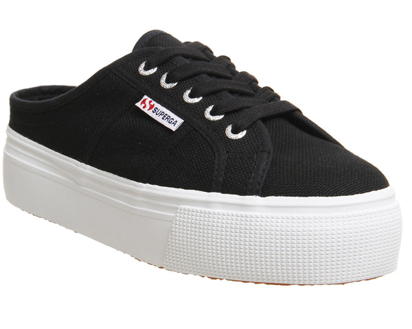 Womens Superga 2284 Black Uk Size 5