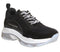 Womens Fornarina Super Sneaker Black Trainers