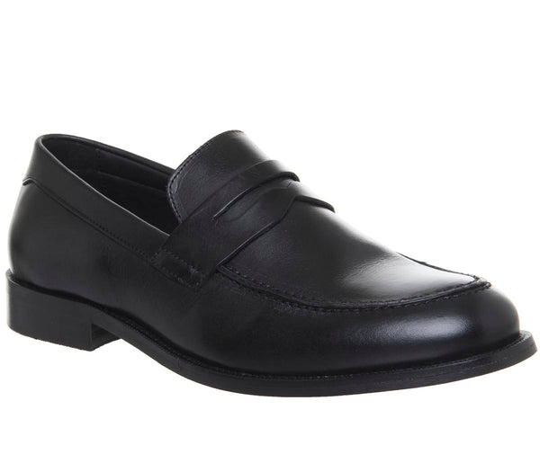 Mens Office Office Classics Loafer Black Leather