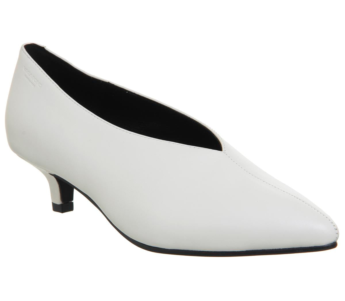 Womens Vagabond Minna Low White Leather