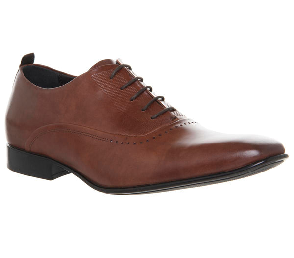 Mens Office Incense Oxford Tan Leather Uk Size 9