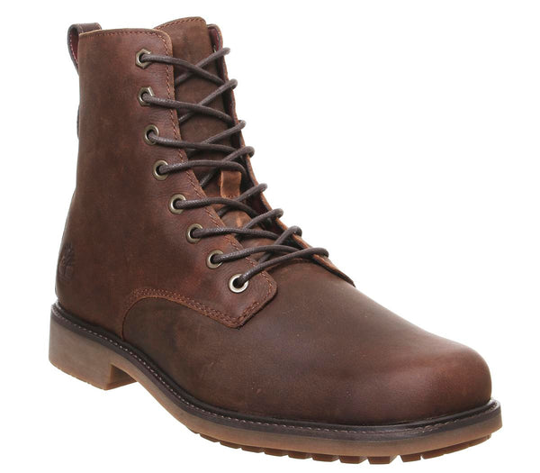 Odd Sizes - Mens Timberland Lux Lace Up Boots Butchthorn Brown UK Sizes R9/L8