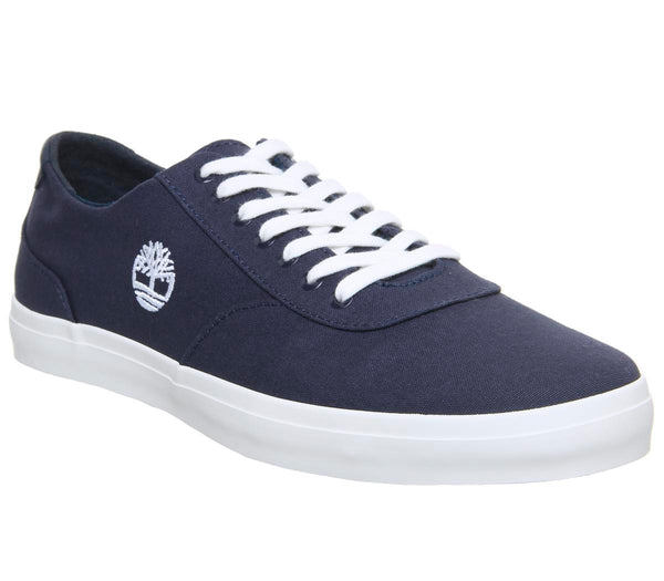 Mens Timberland Union Sneaker  Navy Canvas