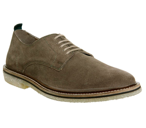 Mens Walk London Darcy Crepe Taupe Suede Uk Size 7
