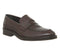 Mens Office Impress Loafer Choc Pebble Leather