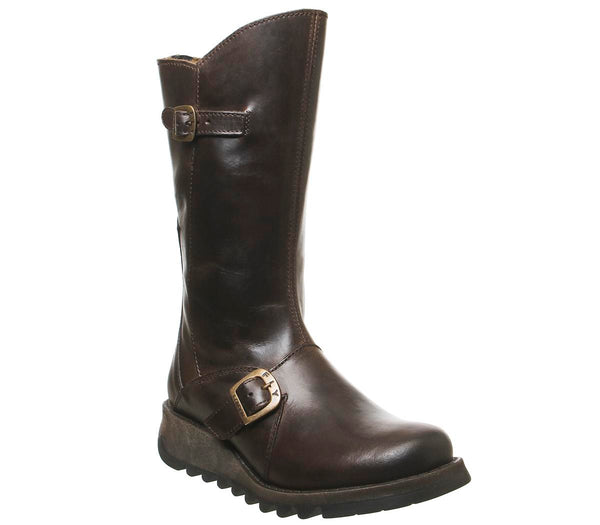 Womens Fly Mes Dark Brown