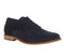 Mens Office Friendly Plain Toe Navy Suede