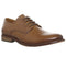 Mens Office Friendly Plain Toe Tan Leather