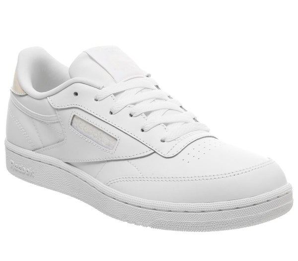 Womens  Reebok Club C Gs White Irridescent Uk Size 5