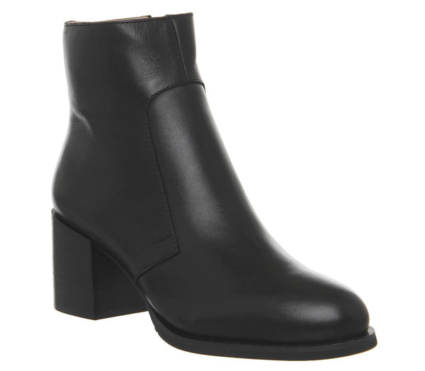 Womens Shoe The Bear Ceci Ankle Boot Black Leather