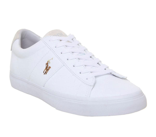 Mens  Ralph Lauren Sayer Sneaker White
