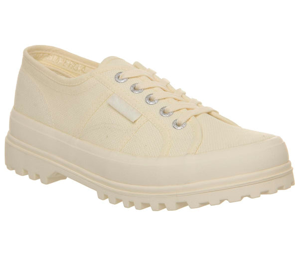 Womens Superga 2555 Off White