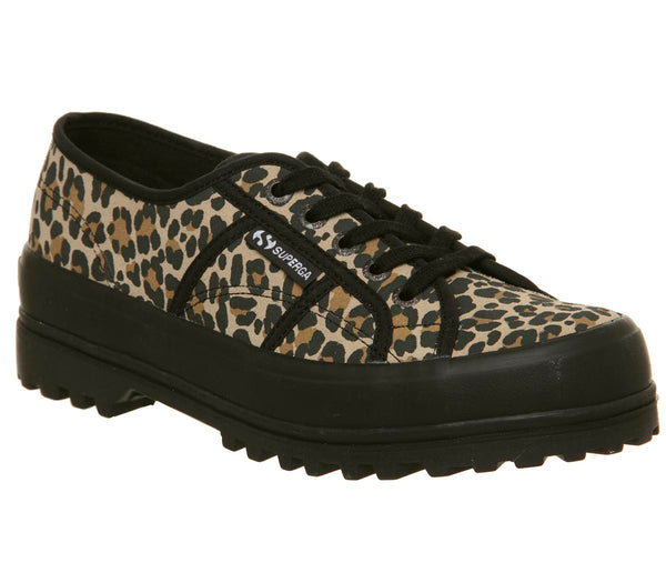 Womens Superga 2555 Leopard