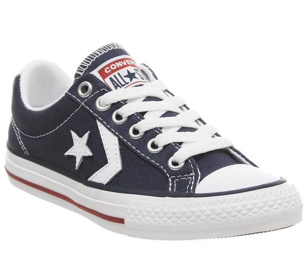 Kids Converse Star Player Youth Navy White Red