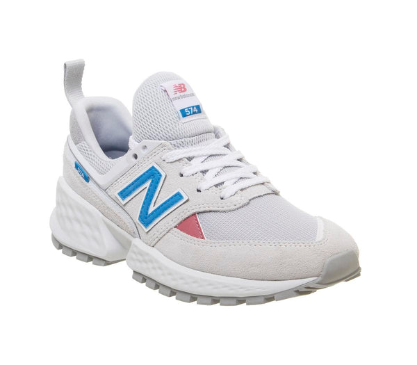 Womens New Balance 574 Sport V2 Artic Fox Deep Ozone Blue Uk Size 5