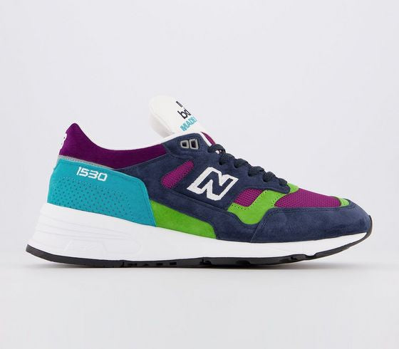 Mens New Balance M1530 Blue Multi Trainers