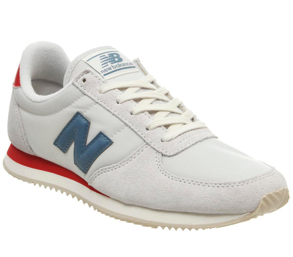 Womens New Balance U220 Artic Fox Team Red