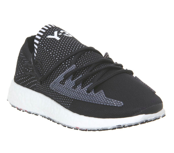 Mens Adidas Y3 Raito Racer Black White Boost Uk Size 6