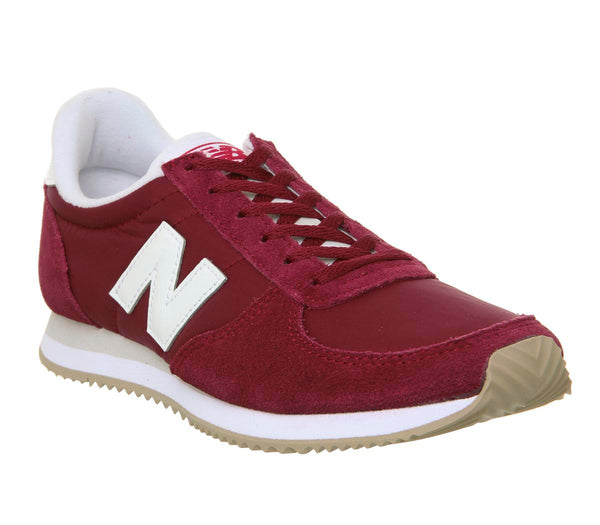 Womens New Balance Wl220 Scarlet White