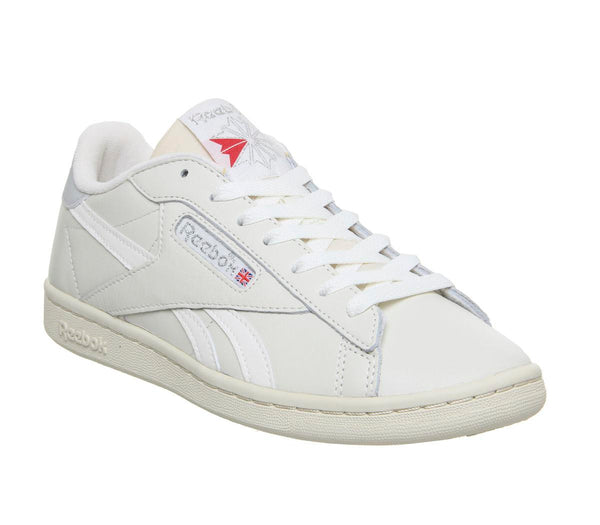 Womens Reebok Npc Uk Chalk Paper White Skull Grey