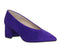 Womens Office Monarchy Feature Heel Court Purple Suede