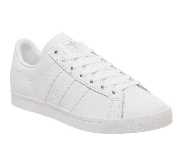 Mens Adidas Coast Star White White