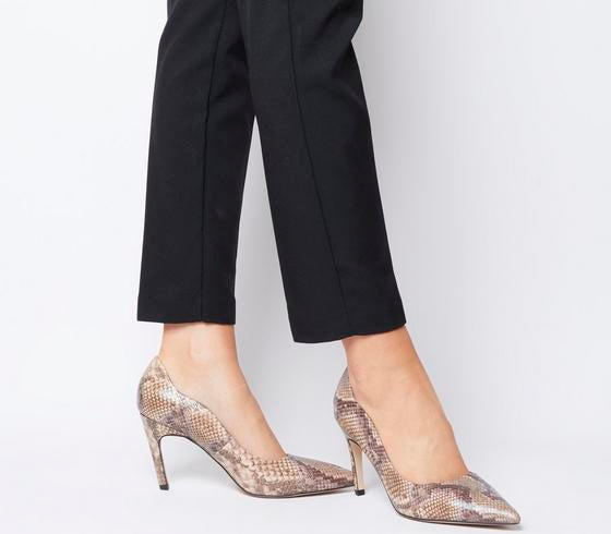 Womens Office Magnificent Pointed Court Snake