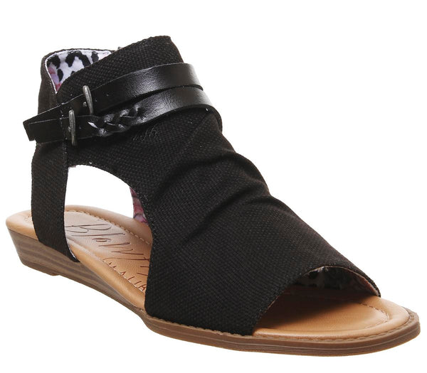 Womens Blowfish Blumoon Sandal Black