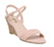 Womens Office Maxima Low Cork Wedge Nude