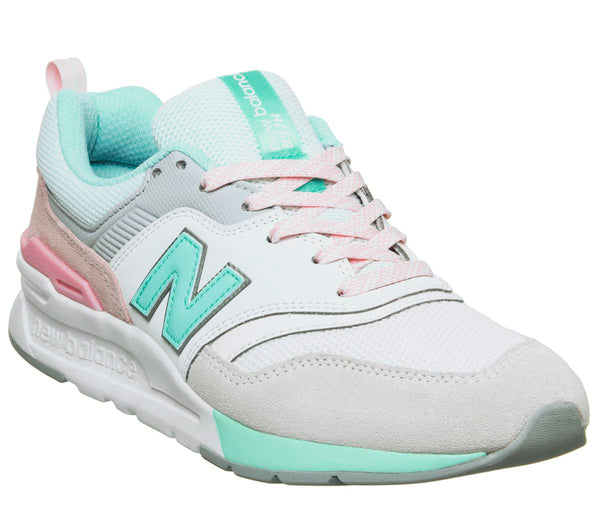 Womens New Balance W997 Sea Salt Light Tidepool