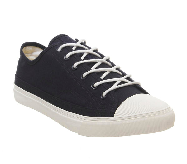 Mens Office Lunge Plimsoll Navy
