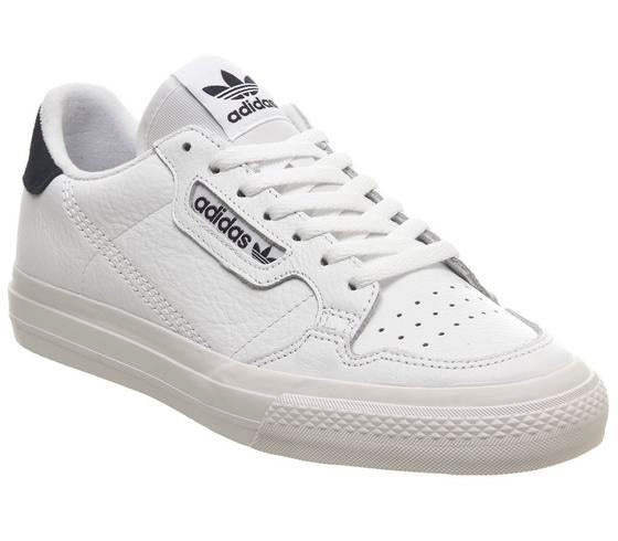 Mens Adidas Continental Vulc White Collegiate Navy Uk Size 7
