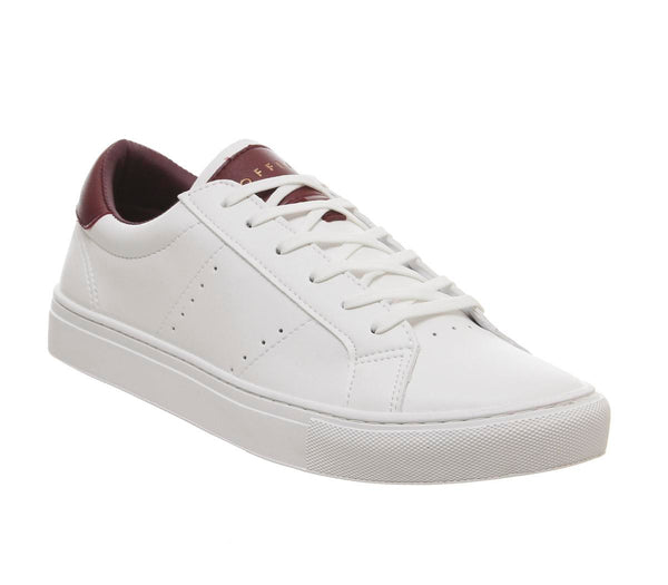 Mens Office Lawn Classic Trainer White Uk Size 10