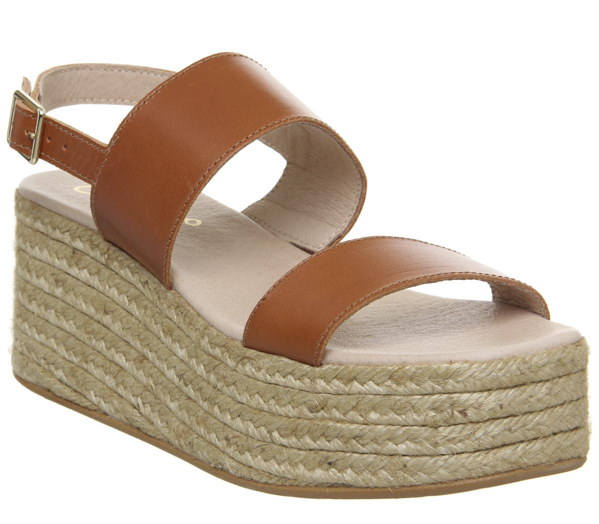 Womens Gaimo for OFFICE Sarty Sandal Tan