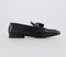 Mens Hudson Bolton Tassel Loafer Black High Shine