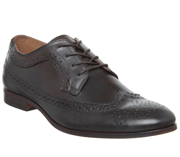 Mens Hudson Crowthorne Brogue Calf Brown