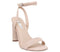 Womens Office Harlan Wf Two Part Block Sandal Nude