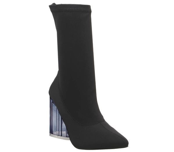 Womens Ego Niko Stretch Boot Black