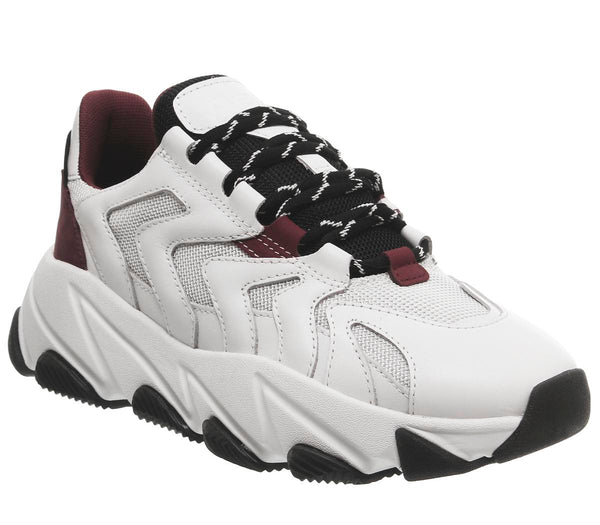 Womens Ash Extreme White Bordo