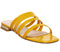 Womens Office Sweet Dreams Strappy Sandal Yellow Patent Croc