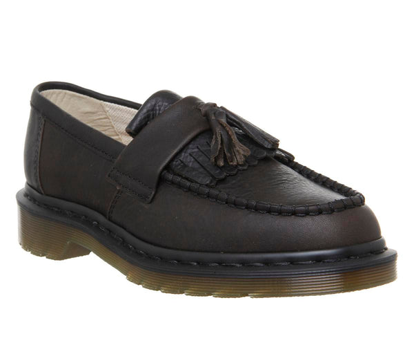Womens Dr.Martens Adrain Loafer Black Harvest
